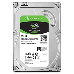 Front View (2TB Hard Drive)