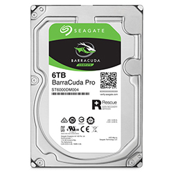 Front View (6TB Hard Drive)