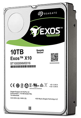 Seagate Exos X10 3.5-Inch Internal 4Kn SATA Enterprise Hard Drive