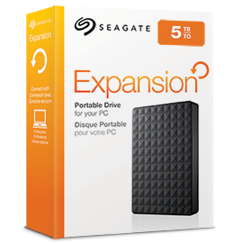 Expansion portable drive BoxShot